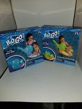 NEW H2O BESTWAY ELEPHANT SPRAY RING INFLATABLE FLOAT WITH HAND PUMP AGE 3-6