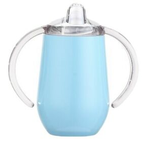 Stainless Steel Sippy Cup Double Vacuum Insulation Mug Toddler Baby Bottle