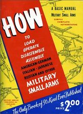 Basic Manual Of military Small Arms - American - British -By Smith Book On CD