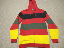 Authentic Nomis Cotton Knitted Hooded Sweatshirt Jacket Snowboarding Skiing XL