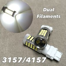 Rear Turn Signal Light White samsung 63 Led bulb T25 3157 3457 4157 For Plymouth(Fits: Neon)