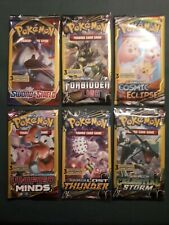 3 Card POKEMON Booster Pack Bundle (6 Packs SEALED) TCG - FREE SHIPPING
