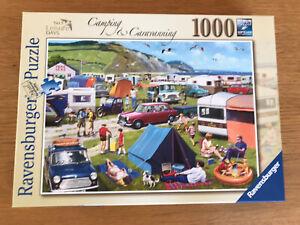 Ravensburger Jigsaw 1000 Camping & Caravanning