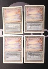 4 Underground Sea (#0553) - Revised Land MtG Magic 93/94 Old School Rare 4x x4
