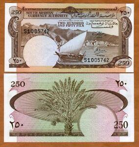 Yemen Democratic Republic, 250 Fils, (1985), P-1 (1b), UNC