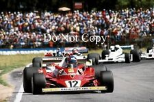 Gilles Villeneuve Ferrari 312 T2 Argentine Grand Prix 1978 Photograph 1
