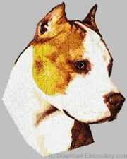 Embroidered Fleece Jacket - American Staffordshire Terrier Dle1467