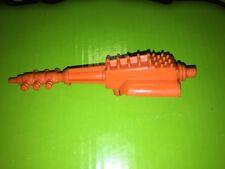 80's Mantech AQUATECH Blaster Gun Cannon Interchangable Orange WEAPON PART Robot