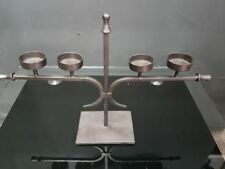 Wrought Iron Pillar Candle Holders & Accessories