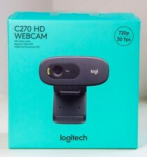 Logitech C270 HD Web Cam 720p Built in Mic - In Hand And Ready To Ship