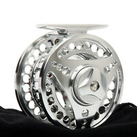 5/6WT 85mm Aluminum Fly Reel Large Arbor CNC Machined Fly Fishing Reel