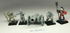 Warhammer AOS - Freeguild Empire - Cannon OOP with 2 Metal Crew