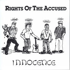 """Rights Of The Accused-Innocence 7""""EP - RE of 1984 Chicago HARDCORE Punk"""