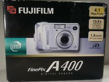 Fujifilm Finepix A400 4.1MP Digital Camera with 3x Optical Zoom NEW