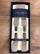 Albert Thurston London 1820 25mm Clip Braces - Beige