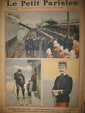 ALPES FACTEUR Lt DE CAUMONT DUC DE CONNAUGHT JOURNAL LE PETIT PARISIEN 1911