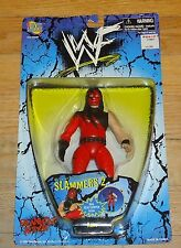 1998 WWF WWE Jakks Kane Masked Slammer Wrestling figure MIP MOC Director of Ops