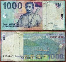 INDONESIA 1000 RUPIAS DEL AÑO 2000 KAPITAN PATTIMURA