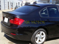 Painted A Roof Lip + Performance Trunk Spoiler  For BMW F30 320i 328i 335i 4Dr