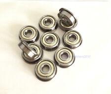 New 20pcs Flange Ball Bearing F696Zz 6*15*5 mm Metric flanged Bearing