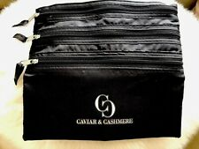 New! Caviar & Cashmere Make-Up 3-Zip Bag-Luxury Lifestyle- For Women Empowerment