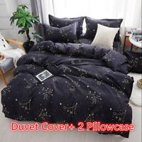 Constellation Duvet Cover Zodiac Quilt Cover Set Bedding Set Twin Queen Size