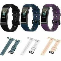 Für Huawei Band 3/ 3Pro Sport Silikon Ersatz Armband Uhrenarmband Band Strap SAT