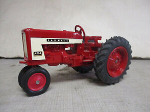 Fully Restored (1964) IH Farmall Model 404 Toy Tractor, 1/16 Scale