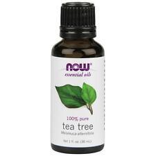 NOW Foods Essential Oils Tea Tree Oil 100 Pure 1 Oz