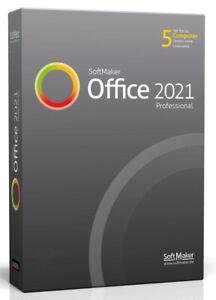 SoftMaker Office 2021 Professional für Windows und MAC - 5 Benutzer - ESD