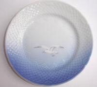 "Royal Copenhagen Blue White Seagulls Bread & Butter Plate 6 7/8"" Fish Scale"