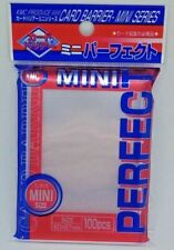 X10 KMC Card Barrier 100 Fit Mini Size Soft Sleeves for Yu-gi-oh 60x87mm
