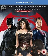 Batman V Superman Dawn of Justice (ultimate Edition) DVD Region 2