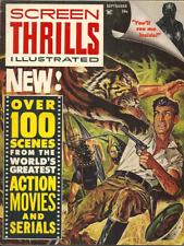 SCREEN THRILLS ILLUSTRATED #2 September 1962 - CAPTAIN MARVEL, JOHN WAYNE, MORE!