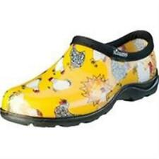 Principle Plastics Sluggers Womens Waterproof Comfort Shoe Chicken Yellow - 7