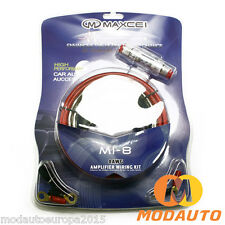 Kit cable de audio 8GA para coche