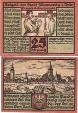 Germany 25 Pfennig 1921 Notgeld Sommers AU-UNC Banknote - Soldier Training