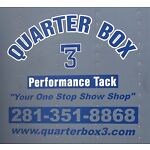 Quarter Box 3 Performance Tack