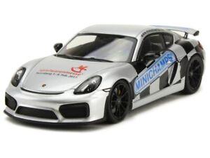 1/43 Minichamps Porsche Cayman GT4 2017 Nuremberg Neuf Emballage D'origine