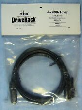 dbx DriveRack 480-10-rc 10' Programming Cable