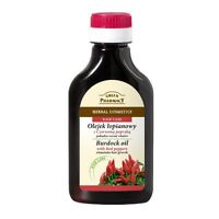 Green Pharmacy Herbal Burdock Oil Hare Care Natural Cosmetics with Red Peppers