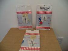 "3 Wall Border Sticker 5yd X 6 3/4"" Disney Mickey & Minnie NURSERY LITTLE BO-PEEP"