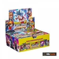 Dragon-Ball Super Card Game Colossal Warfare Sealed Booster Box of 24 Packs Z
