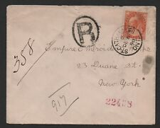 $Canada Sc#82 single usage cover, 1898 St. Catharines