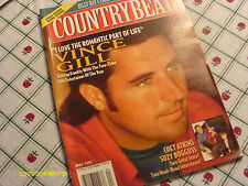 Vince Gill Covers Country Beat Magazine April 1995 George Strait Chet Atkins