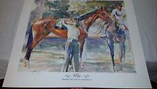86 Lim Ed 90/300 Sign Print 'WIN' COLIN COOTS Barachois-Par Ci Par La Buckpasser