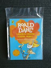 Roald Dahl Mini Book with Stickers - Ladderless Window Cleaning Animals -RARE
