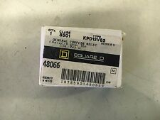 SQUARE D KPD12V53 NEW IN BOX DPDT GEN PURPOSE RELAY SEE PICS 24VDC COIL #B47