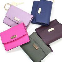 New Kate Spade Newbury Lane Petty Saffiano Leather Clutch Wallet WLRU2190