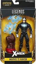 X-Men Marvel Legends Havoc Juggernaut Build A Figure Wave New